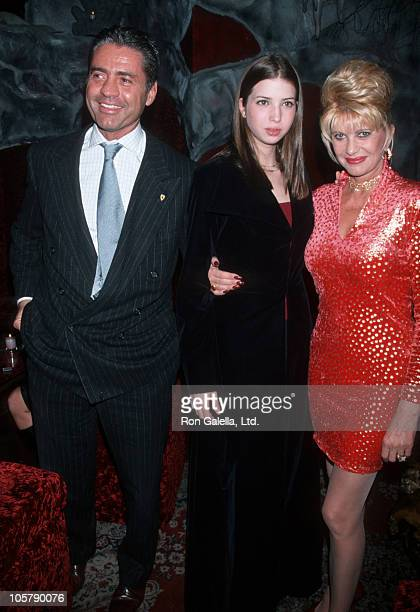 Roffredo Gaetani Ivanka Trump and Ivana Trump during Birthday Party for Ivana Trump at The Lava Lounge in New York City New York United States