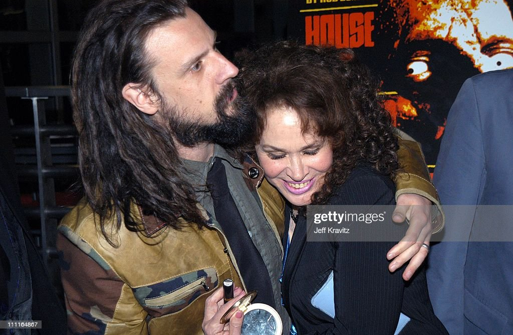 Rog Zombie and Karen Black during LionsGate Films' 'House of 1000 Corpses' Premiere at ArcLight Cinemas in Hollywood, CA, United States.