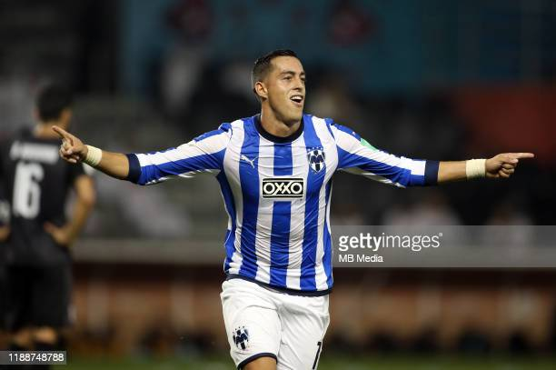 Rogelio FUNES MORI of Monterrey celebrates after his goal 20 during the FIFA Club World Cup 2nd round match between Al Hilal and Esperance Sportive...