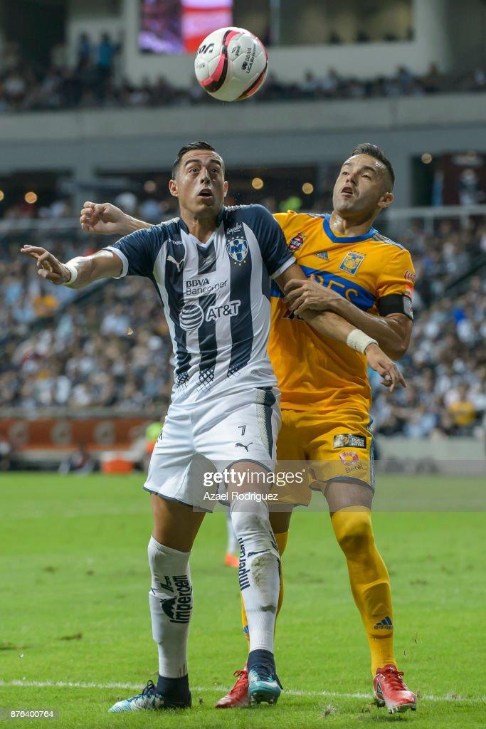 Monterrey v Tigres UANL - Torneo Apertura 2017 Liga MX : News Photo