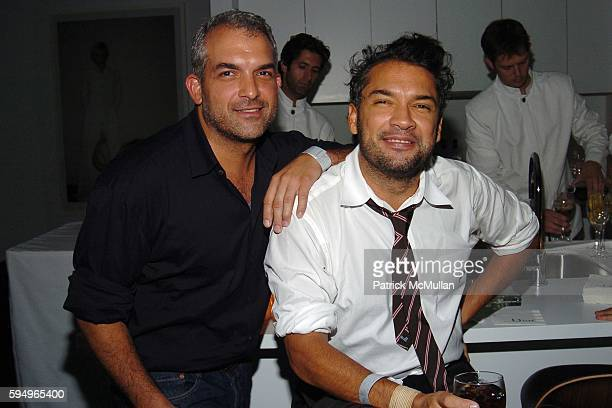 Rogelio Garcia and Carlos Mota attend Afterparty for DIOR THE CINEMA SOCIETY's screening of Hart Sharp Entertainment Miramax Films' Proof at 165...