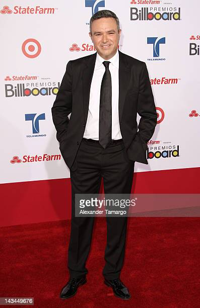 Rogelio MoraTagle arrives at Billboard Latin Music Awards 2012 at Bank United Center on April 26 2012 in Miami Florida
