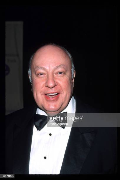 Roger Ailes attends the UJAFederation of New York presentation of the Steven J Ross Humanitarian Award May 11 1999 in New York City The award was...