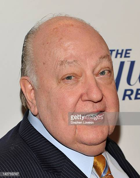 Roger Ailes President of Fox News Channel attends the Hollywood Reporter celebration of The 35 Most Powerful People in Media at the Four Season Grill...