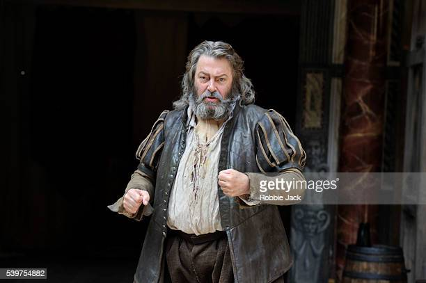 Roger Allam as Falstaff in the production of William Shakespeare's Henry IV Parts 1 and 2 directed by Dominic Dromgoole at Shakespeare's Globe...