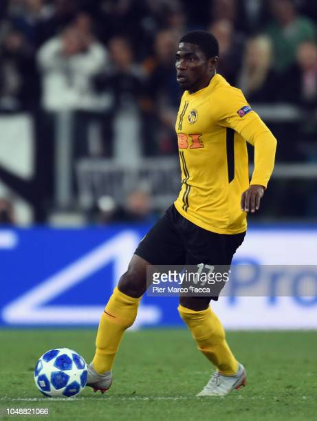 Roger Assale of BSC Young Boys in action during the Group H match of the UEFA Champions League between Juventus and BSC Young Boys at Allianz Stadium...