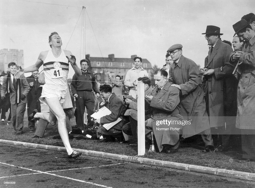UNS: 6th may 1954 - Roger Bannister Breaks The 4 Minute Mile