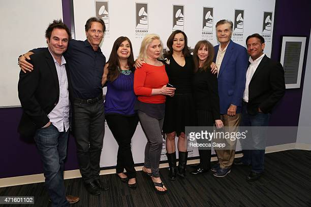 Roger Bart Steven Weber Dayle Reyfel Debbie Harry Jennifer Tilly Laraine Newman Fred Willard and Eugene Pack attend Celebrity Autobiography The Music...