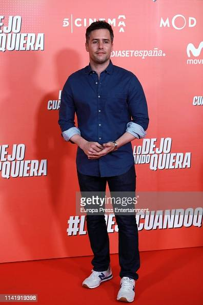 Roger Berruezo Attends Lo Dejo Cuando Quiera Premiere At Capitol News Photo Getty Images