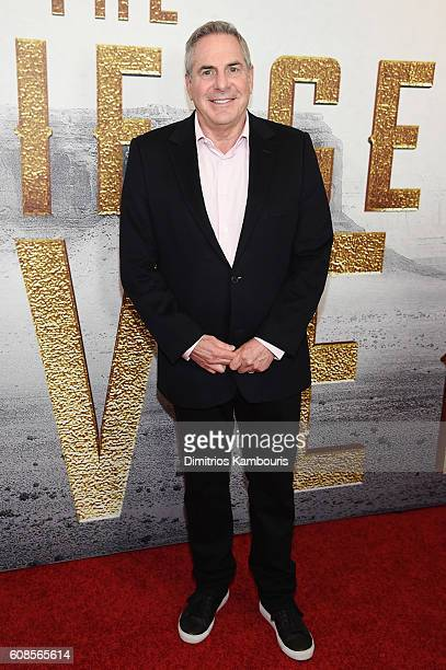 Roger Birnbaum attends The Magnificent Seven premiere at Museum of Modern Art on September 19 2016 in New York City