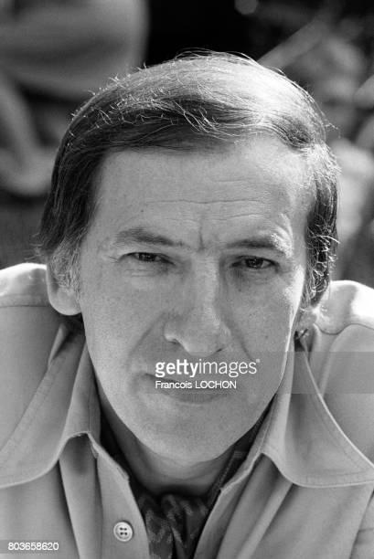 Roger Borniche inspecteur de police et écrivain le 12 juin 1976 à PortMarly France