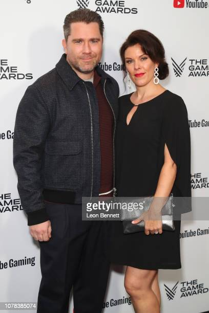 Roger Clark and Molly Clark attend The Game Awards 2018 Arrivals at Microsoft Theater on December 06 2018 in Los Angeles California