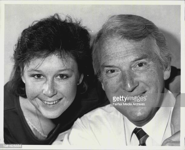 Roger Climpson and daughter Mandy Both to appear in the Phillip Street Theater production of The Diary of Anne Frank September 12 1984
