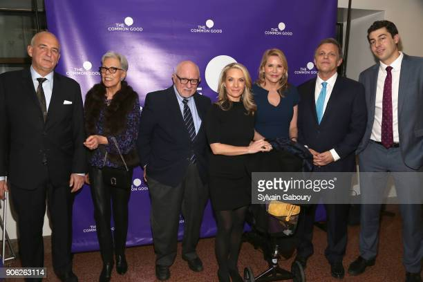 Roger Cohen Isabelle Orlansky Ed Rollins Dana Perino Patricia Duff Douglas Brinkley attend 'Trump Year One' Presidential Panel on January 17 2018 in...