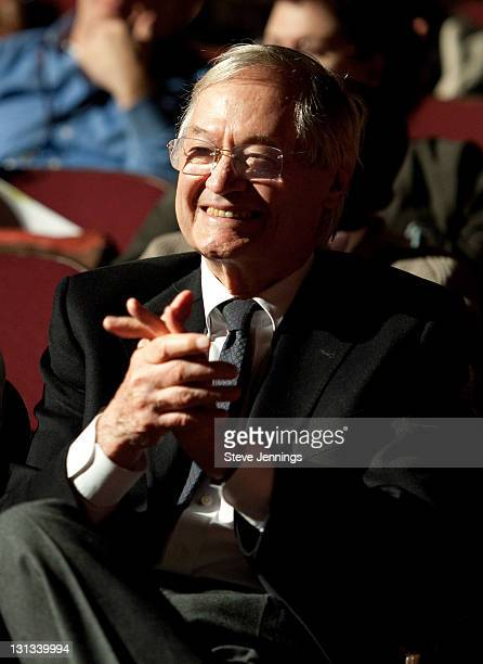 Roger Corman attends the Academy of Art University 5th Annual Epidemic Film Festival at Golden Gate Theatre on May 6 2011 in San Francisco California