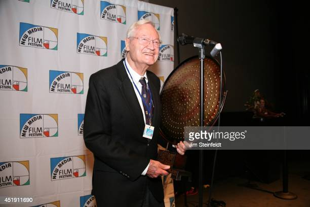 Roger Corman film producer director and actor accepts the Legend Award at the New Media Film Festival at the Landmark Theatre in Los Angeles...