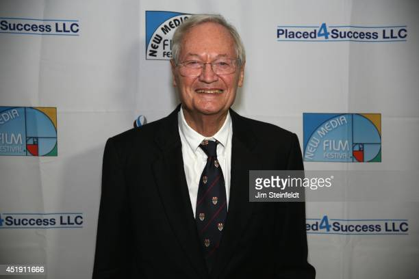 Roger Corman film producer director and actor at the New Media Film Festival at the Landmark Theatre in Los Angeles California on June 11 2014