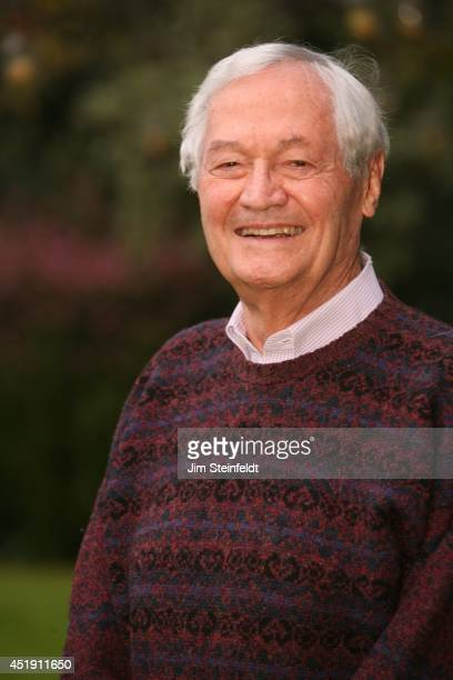 Roger Corman film producer director and actor poses for a portrait at his home in Los Angeles California on December 18 2013