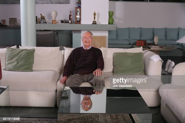 Roger Corman film producer director and actor poses for a portrait in his home in Los Angeles California on December 18 2013
