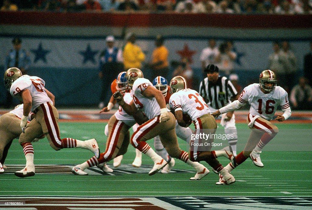 Super Bowl XXIV - Denver Broncos v San Francico 49ers : News Photo