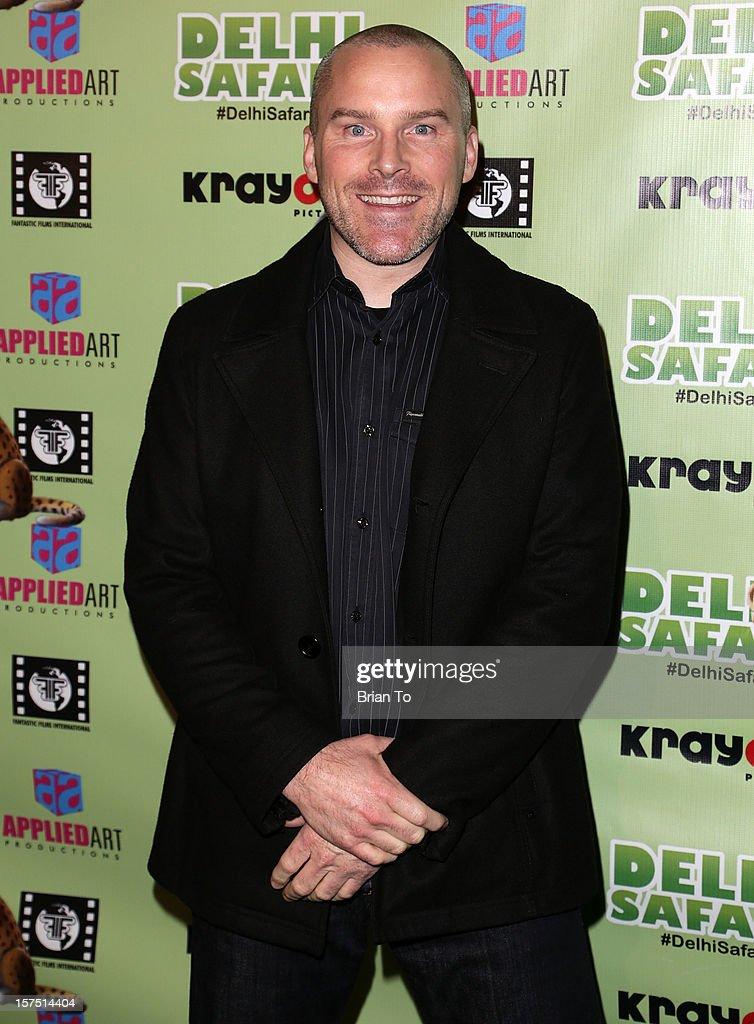 Roger Craig Smith attends 'Delhi Safari' - Los Angeles premiere at Pacific Theatre at The Grove on December 3, 2012 in Los Angeles, California.