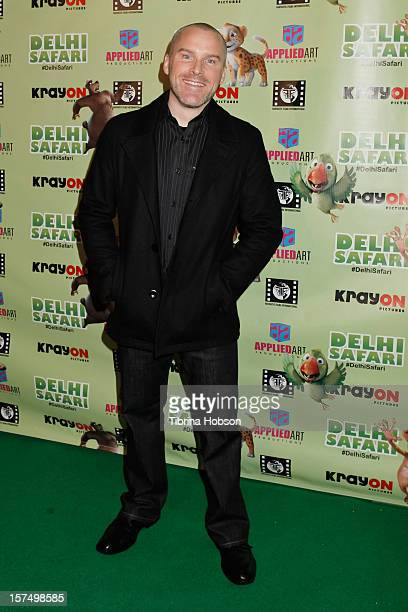 Roger Craig Smith attends the Delhi Safari Los Angeles premiere at Pacific Theatre at The Grove on December 3 2012 in Los Angeles California