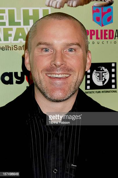 Roger Craig Smith attends the Delhi Safari Los Angeles premiere at Pacific Theatre at The Grove on December 3 2012 in Los Angeles California