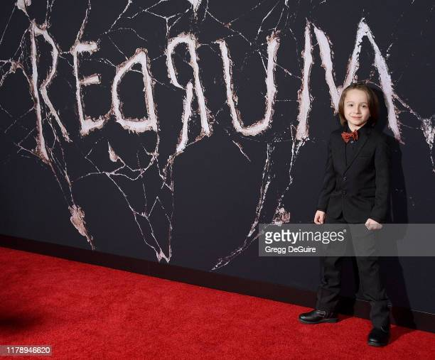 Roger Dale Floyd arrives at the Premiere Of Warner Bros Pictures' Doctor Sleep at Westwood Regency Theater on October 29 2019 in Los Angeles...