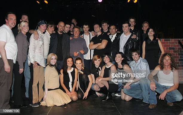 Roger Daltrey and cast members during The Who's Quadrophenia Dress Rehearsal - February 22, 2006 at SIR Studio in Los Angeles, California, United...