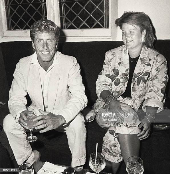 Roger Daltrey and guest during Amadeus Premiere September 12 1984 at Lowe's Tower East Theater in New York New York United States