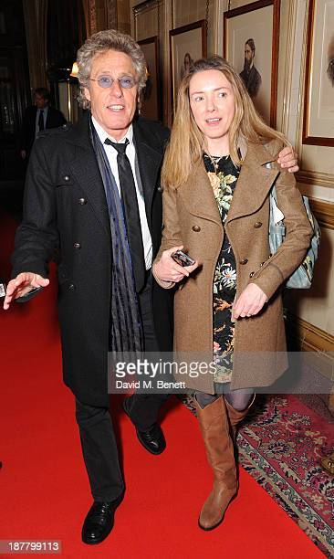Roger Daltrey and Rosie Daltrey attends an after party celebrating the press night performance of 'Perfect Nonsense' at the The Royal Horseguards on...