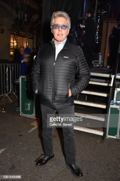 Roger Daltrey attends Marylebone Village's Christmas lights switch on on November 14, 2018 in London, England.