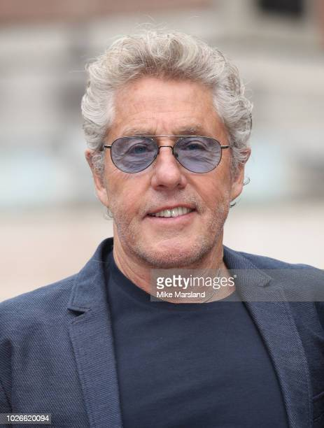 Roger Daltrey attends the launch of the Royal Albert Hall 'Walk Of Fame' at Royal Albert Hall on September 4 2018 in London England