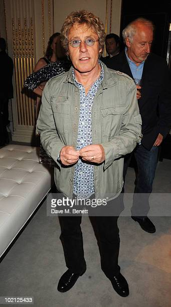 Roger Daltrey attends the Lucian Grainge VIP Party on June 15 2010 in London England