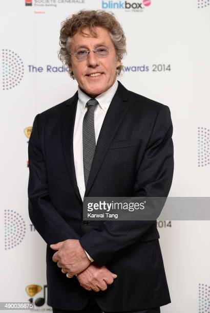 Roger Daltrey attends The Radio Academy Awards at the Grosvenor House Hotel on May 12 2014 in London England