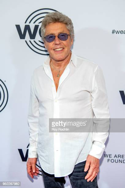 Roger Daltrey attends the We Are Family Foundation 2018 Gala at Hammerstein Ballroom on April 27, 2018 in New York City.