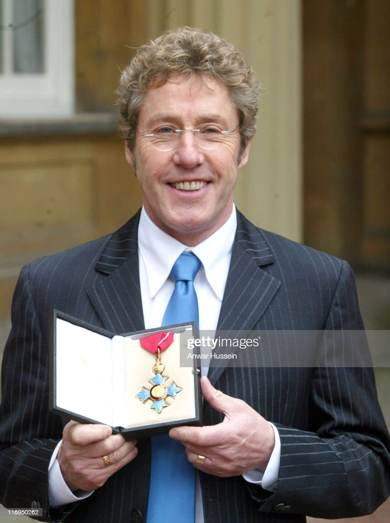 Roger Daltrey Receives CBE