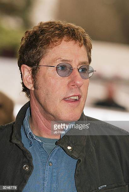 "Roger Daltrey from the Who arrives at the ""Capital FM Awards 2004"" at the Royal Lancaster Hotel on April 7, 2004 in London. The awards celebrate..."