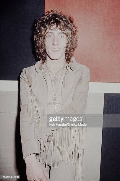 Roger Daltrey in a dressing room of The Marquee Club London December 17 1968