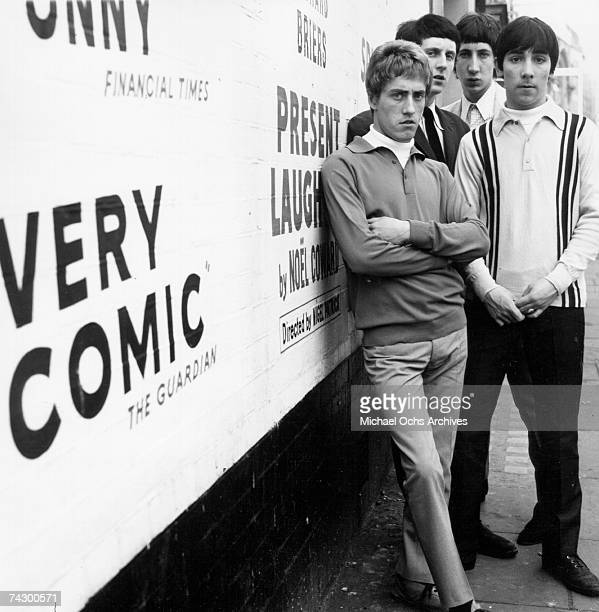 Roger Daltrey John Entwistle Pete Townshend and Keith Moon of the rock and roll band 'The Who' pose for a portrait in circa 1965