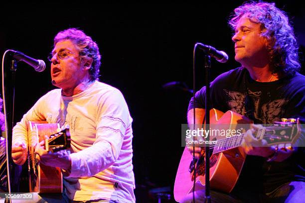 Roger Daltrey of The Who and Jack Blades of Night Ranger