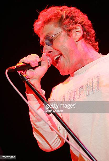 Roger Daltrey of The Who at the House of Blues in West Hollywood, California