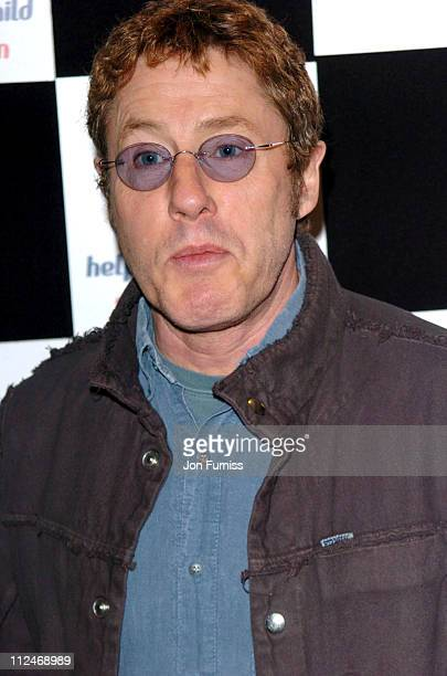Roger Daltrey of The Who during 2004 Capital FM Awards - Inside Arrivals at The Royal Lancaster Hotel in London, United Kingdom.