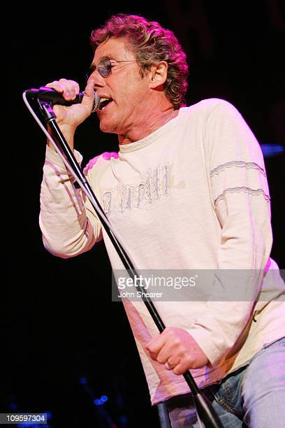 Roger Daltrey of The Who during Rock 'n Roll Fantasy Camp to Benefit the Teenage Cancer Trust - February 20, 2006 at House of Blues in West...