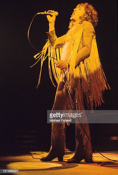 Roger Daltrey of The Who during the stage version of Tommy at the Rainbow Theatre London 9th December 1972