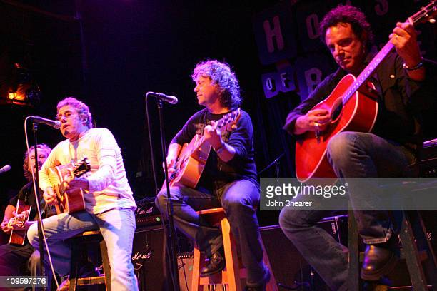 Roger Daltrey of The Who, Jack Blades of Night Ranger, and Neal Schon of Journey