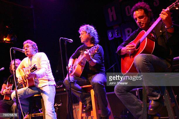 Roger Daltrey of The Who, Jack Blades of Night Ranger, and Neal Schon of Journey at the House of Blues in West Hollywood, California