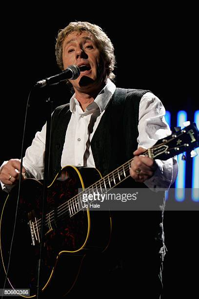 Roger Daltrey of The Who performs an acoustic set during the sixth and final night of a series of concerts and events in aid of Teenage Cancer Trust...