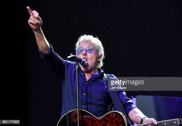 Roger Daltrey of The Who performs on the Lands End stage during the 2017 Outside Lands Music And Arts Festival at Golden Gate Park on August 13, 2017...