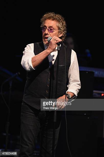 Roger Daltrey of The Who performs onstage during the MusiCares MAP Fund Benefit Concert at Best Buy Theater on May 28 2015 in New York City All...